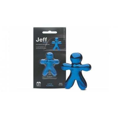 JEFF osviežovač vzduchu modrý chrome - Lotus flowers