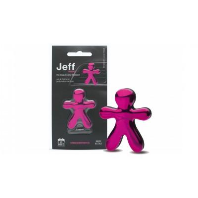 JEFF osviežovač vzduchu ružový chrome - Strawberry