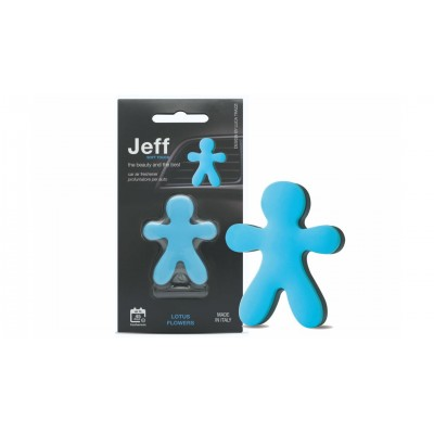 JEFF osviežovač vzduchu modrý soft - Lotus flowers