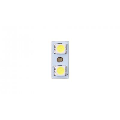 4CARS LED ŽIAROVKA 2LED 12V 5050SMD T10