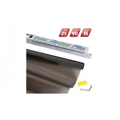 4CARS Fólia na okná Black 0,75x3m Priepustnosť svetla 25%