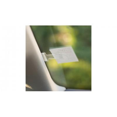 4CARS Držiak parkovacej karty na čelné sklo